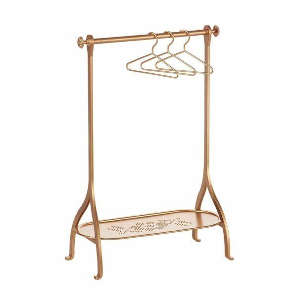 Maileg Clothes Rack - Gold - 34 cm