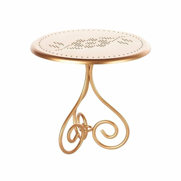 Maileg Vintage Coffee Table Gold - 13 cm