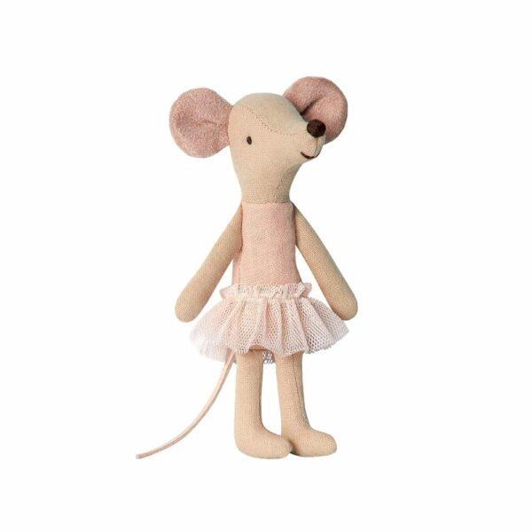Maileg Big Sister Ballerina Mouse - 13 cm