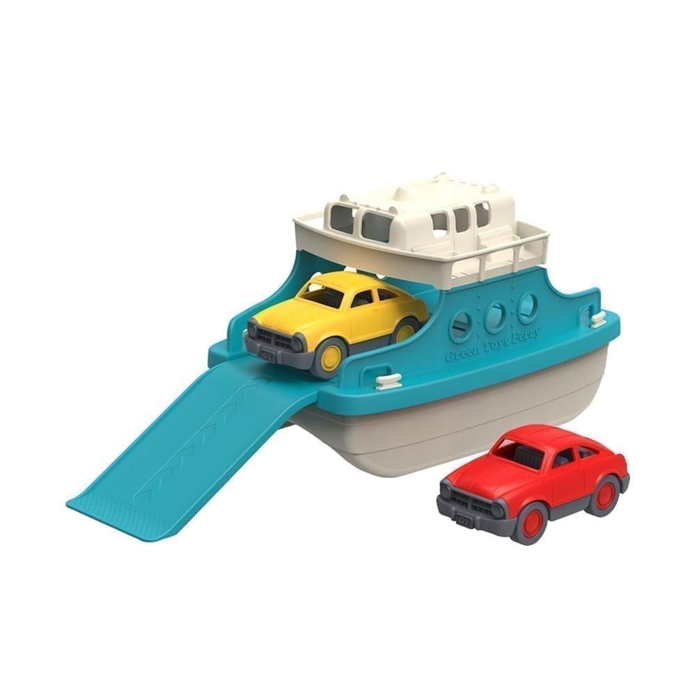Green Toys – Veerboot met Miniauto's