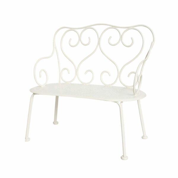 Maileg Romantic Bench - Off White - 20 cm
