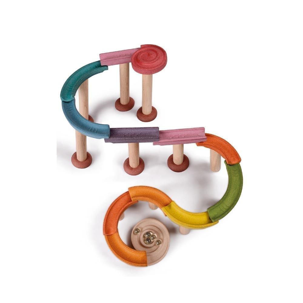 Plan Toys – Deluxe Knikkerbaan