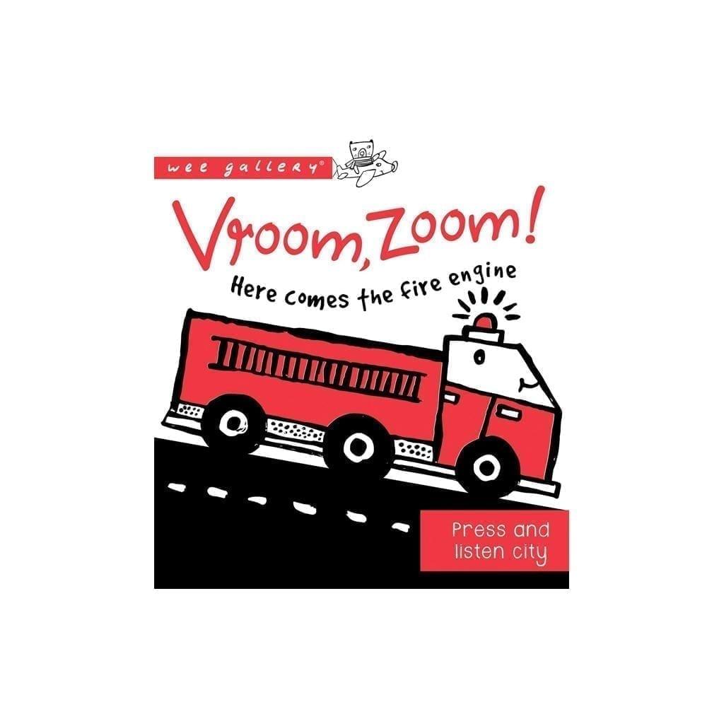 Wee Gallery – Press & Listen Boek – Vroom Zoom
