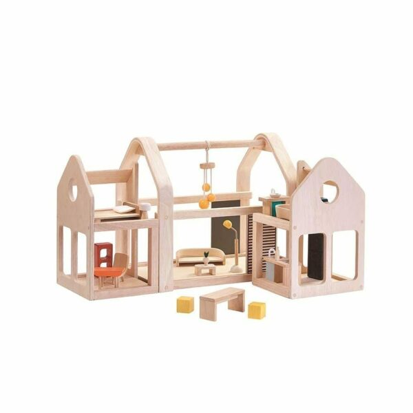 Plan Toys - Slide and Go Doll House