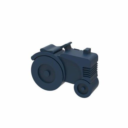 Blafre - Lunch box - Tractor - Dark Blue