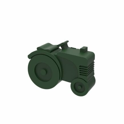 Blafre - Lunch box - Tractor - Dark Green