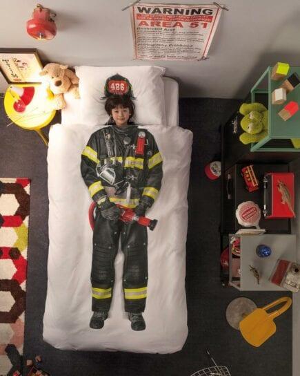 SNURK Duvet Cover Set - Firefighter