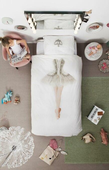 SNURK Kinderbettwäsche - Ballerina