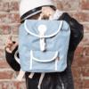 Blafre Kinderrucksack - Hellblau - 6 oder 8 Liter