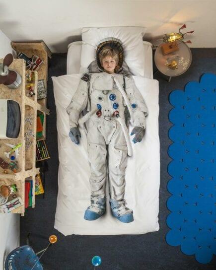 SNURK Kinderbettwäsche - Astronaut