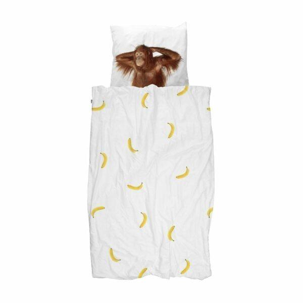 SNURK Duvet Cover Set - Banana Monkey