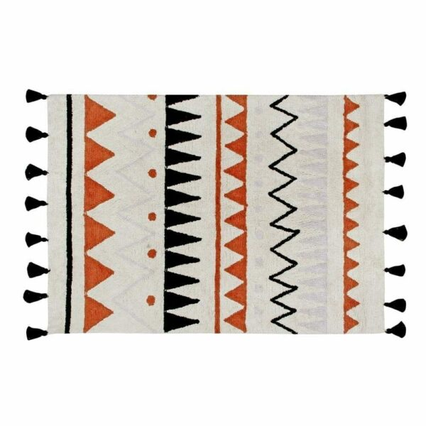 Lorena Canals - Washable Rug - Azteca Natural Terracota - 2 sizes