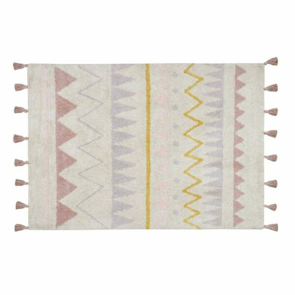 Lorena Canals - Washable Rug - Azteca Natural Vintage Nude - 2 sizes