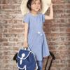 Blafre Kinderrucksack - Dunkelblau - 6 oder 8 Liter