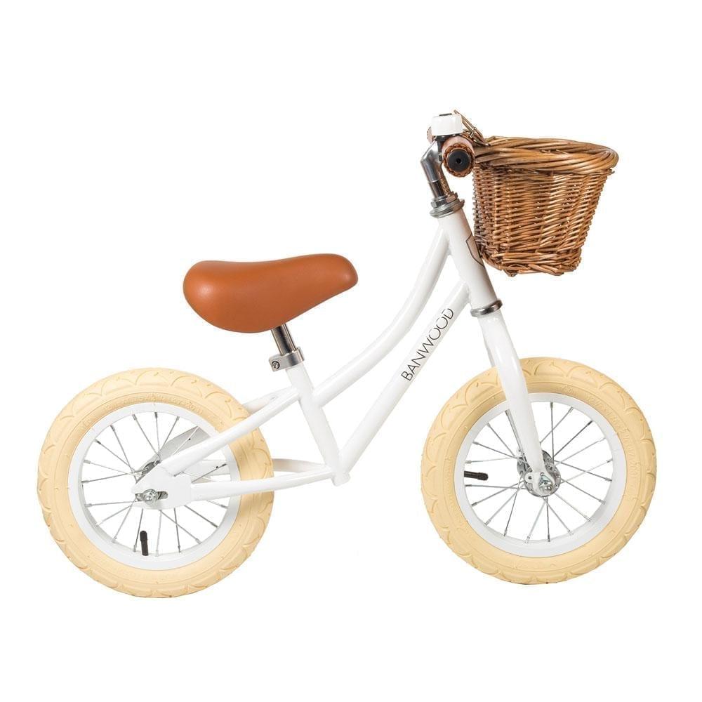 Balance Bike, First GO – White