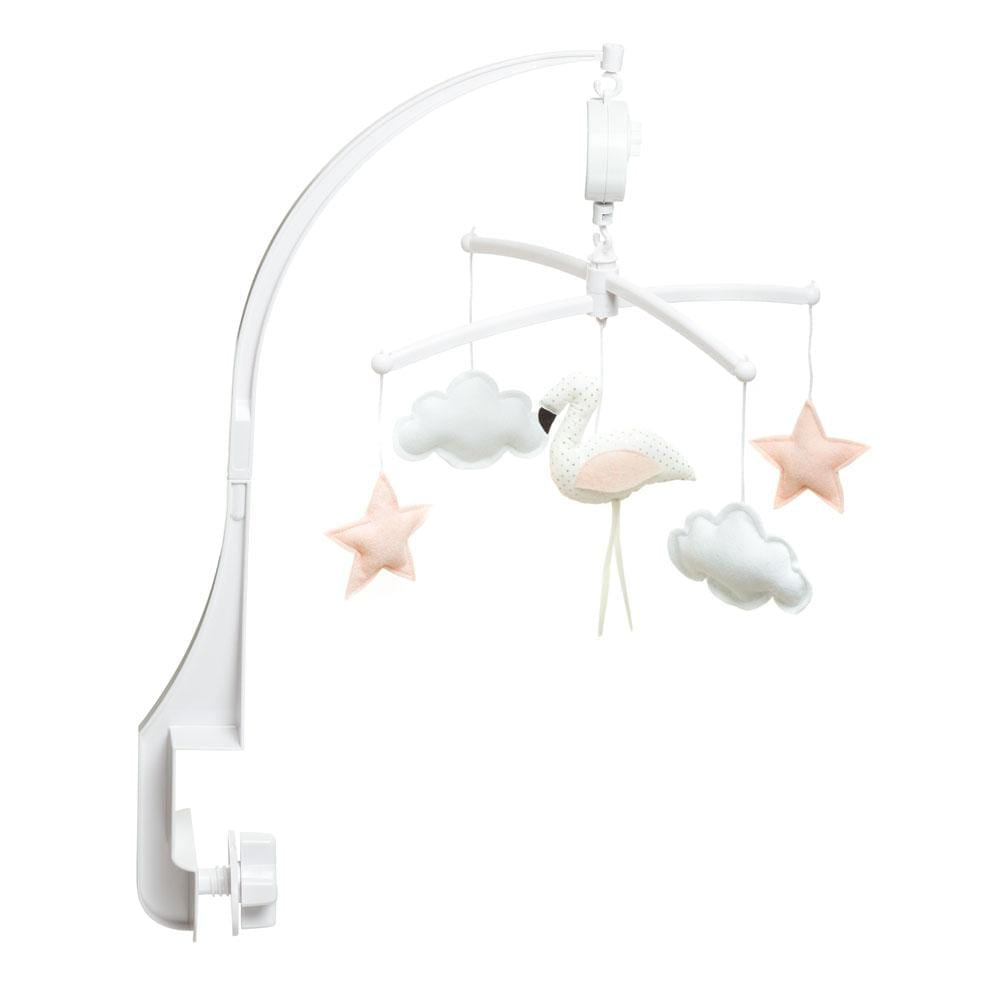 Musik Mobile – Flamingo – Weiß