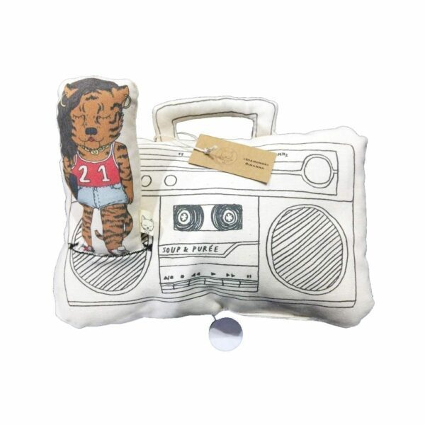 Soup & Puree Baby Music Mobile - Ghetto Blaster - Rihanna