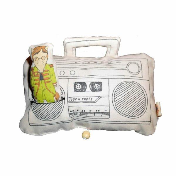 Soup & Puree Baby Music Mobile - Ghetto Blaster - John Lennon