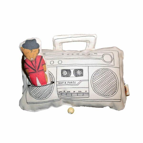 Soup & Puree Baby Music Mobile - Ghetto Blaster - Michael Jackson