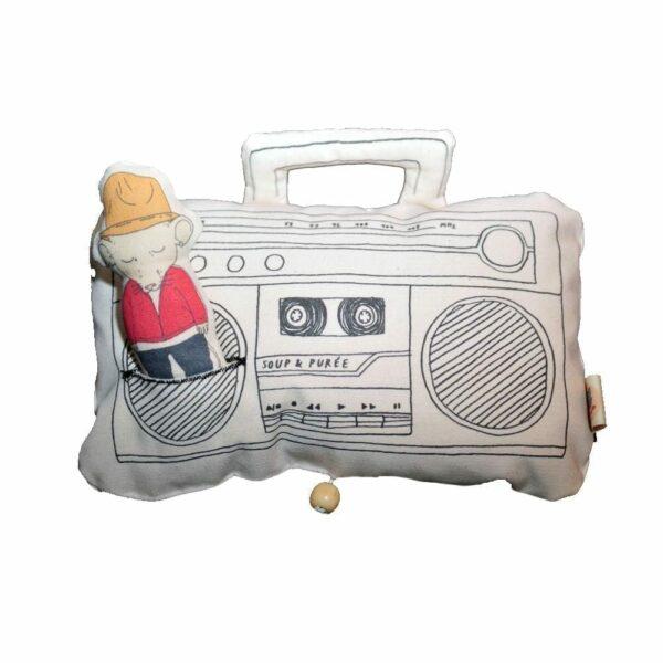 Soup & Puree Baby Music Mobile - Ghetto Blaster - Pharrell Williams