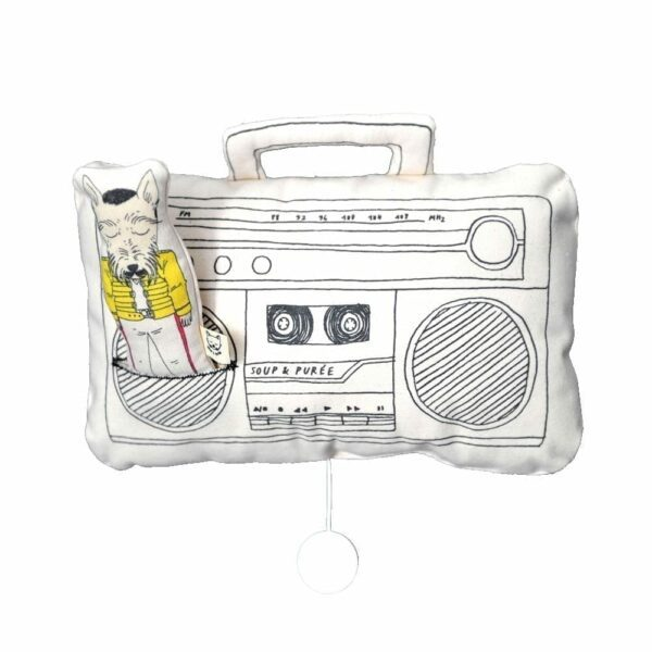Soup & Puree Baby Music Mobile - Ghetto Blaster - Queen