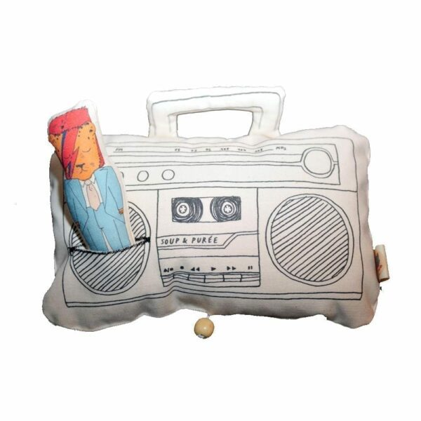 Soup & Puree Baby Music Mobile - Ghetto Blaster - David Bowie