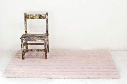 Lorena Canals Waschbarer Teppich - Trenzas - Soft Pink - 120 x 160 cm