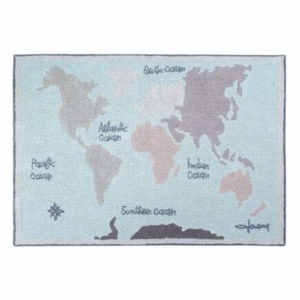Lorena Canals - Washable Rug - Vintage Map