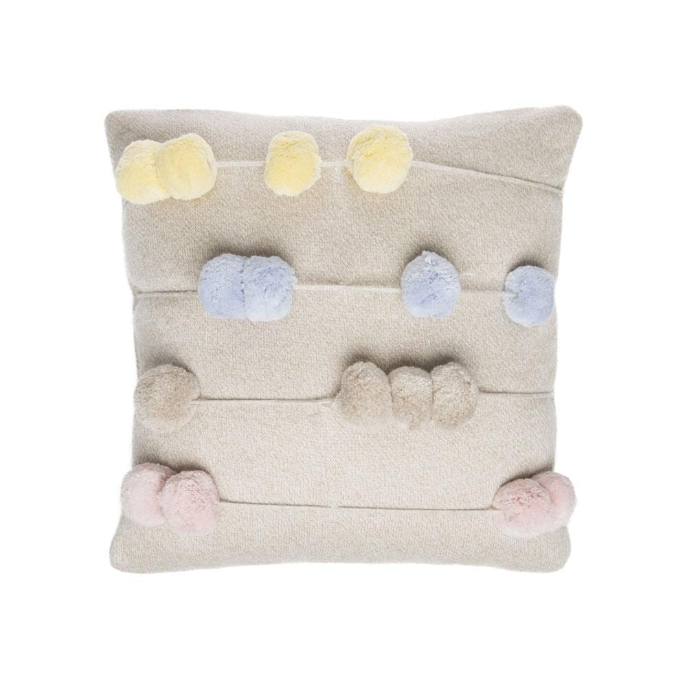 Lorena Canals - Knitted Cushion - Counting Frame - 30 x 30 cm