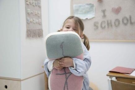 Lorena Canals - Wasbaar Kussen - Eraser - 24 x 45 cm