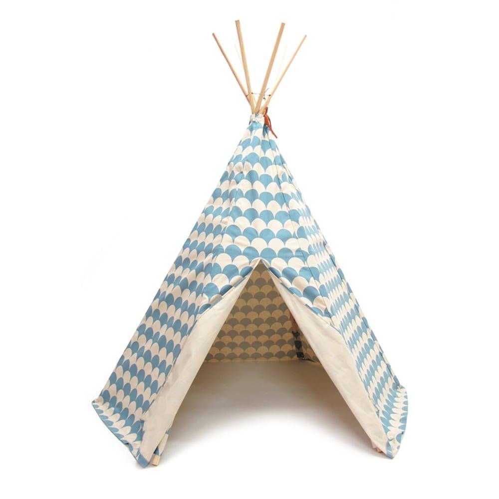 Teepee – Arizona – Scales – Blue
