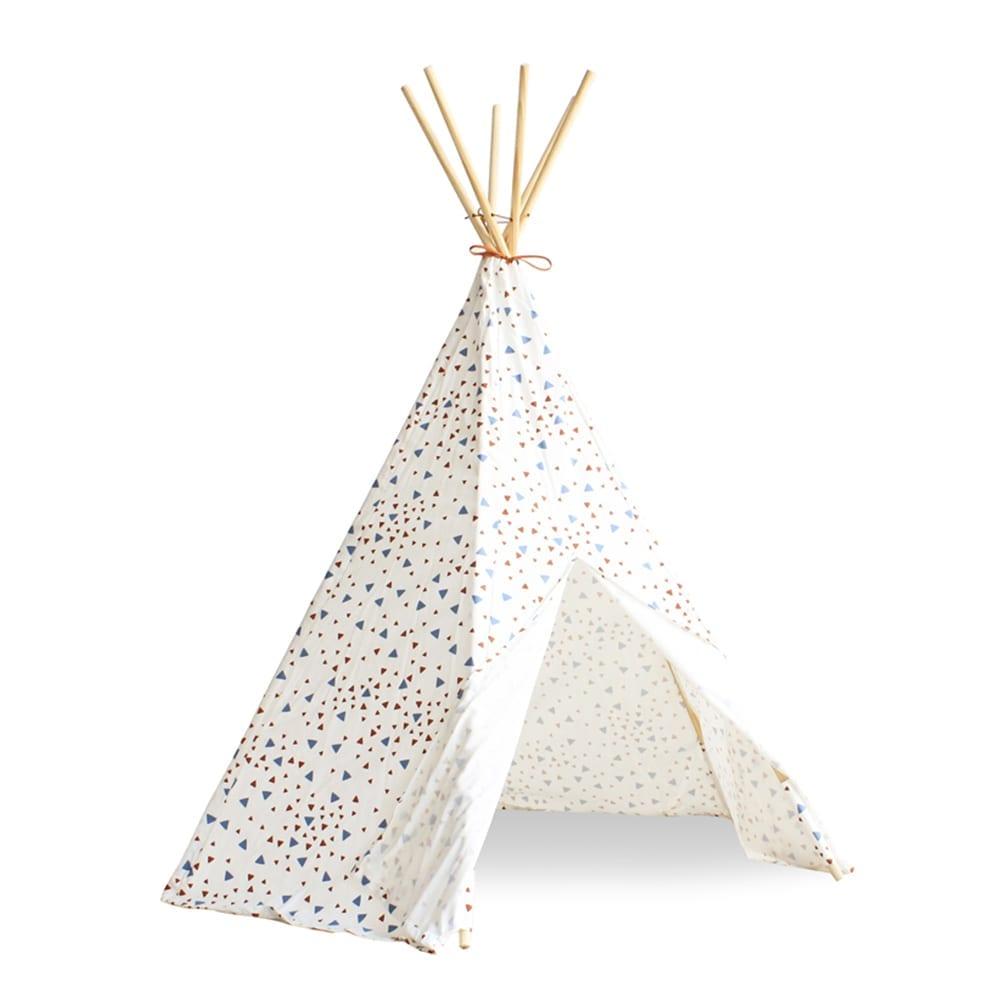 Nobodinoz – Teepee – Arizona – Sparks – Blue/Terracotta