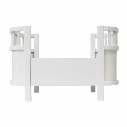 Sebra - Puppenbett aus Holz - Weiß