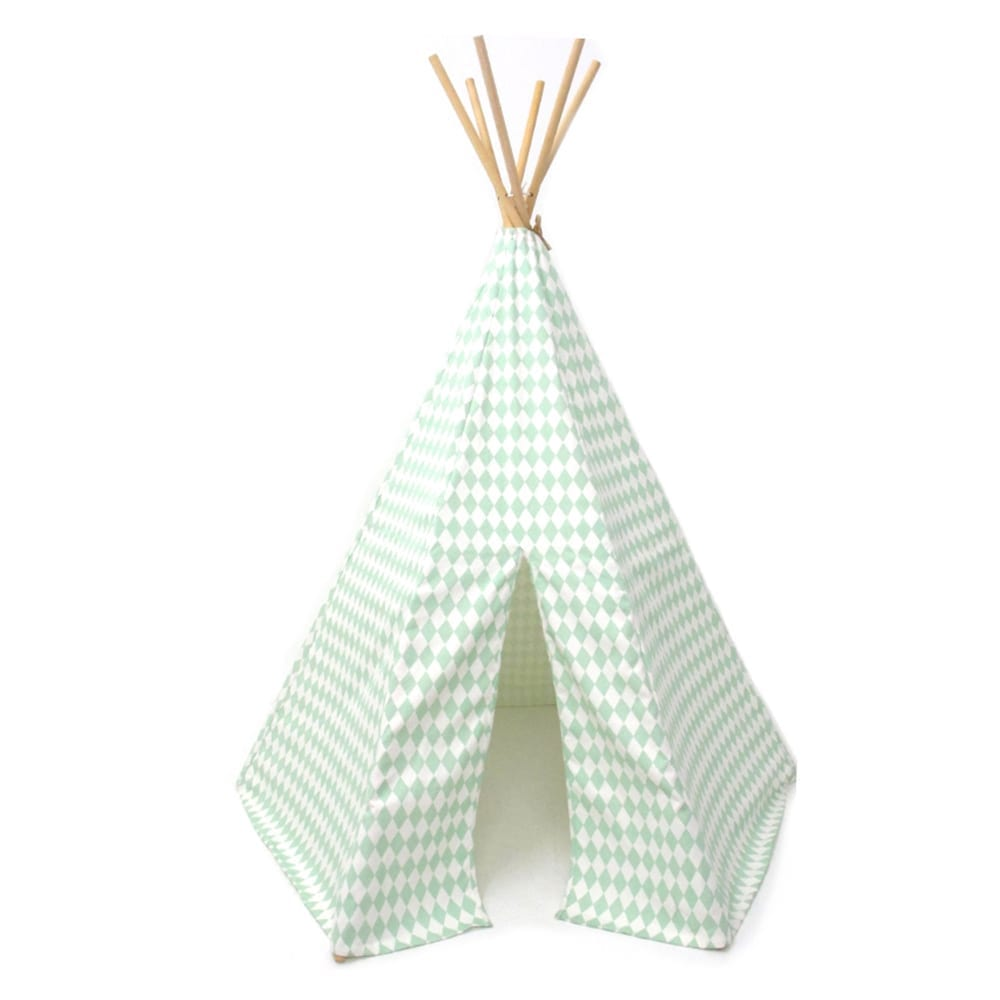 Teepee – Arizona – Diamonds – Green