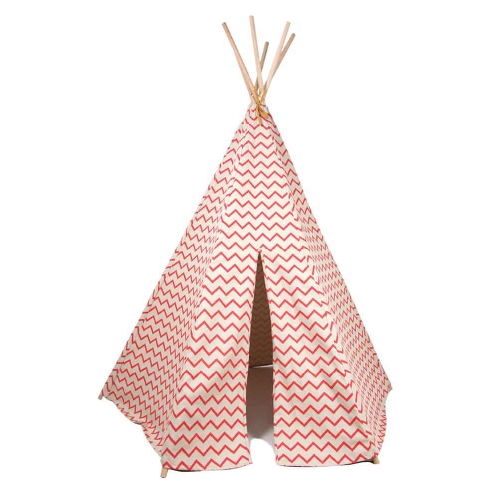 Nobodinoz – Teepee – Arizona – Zig Zag – Pink