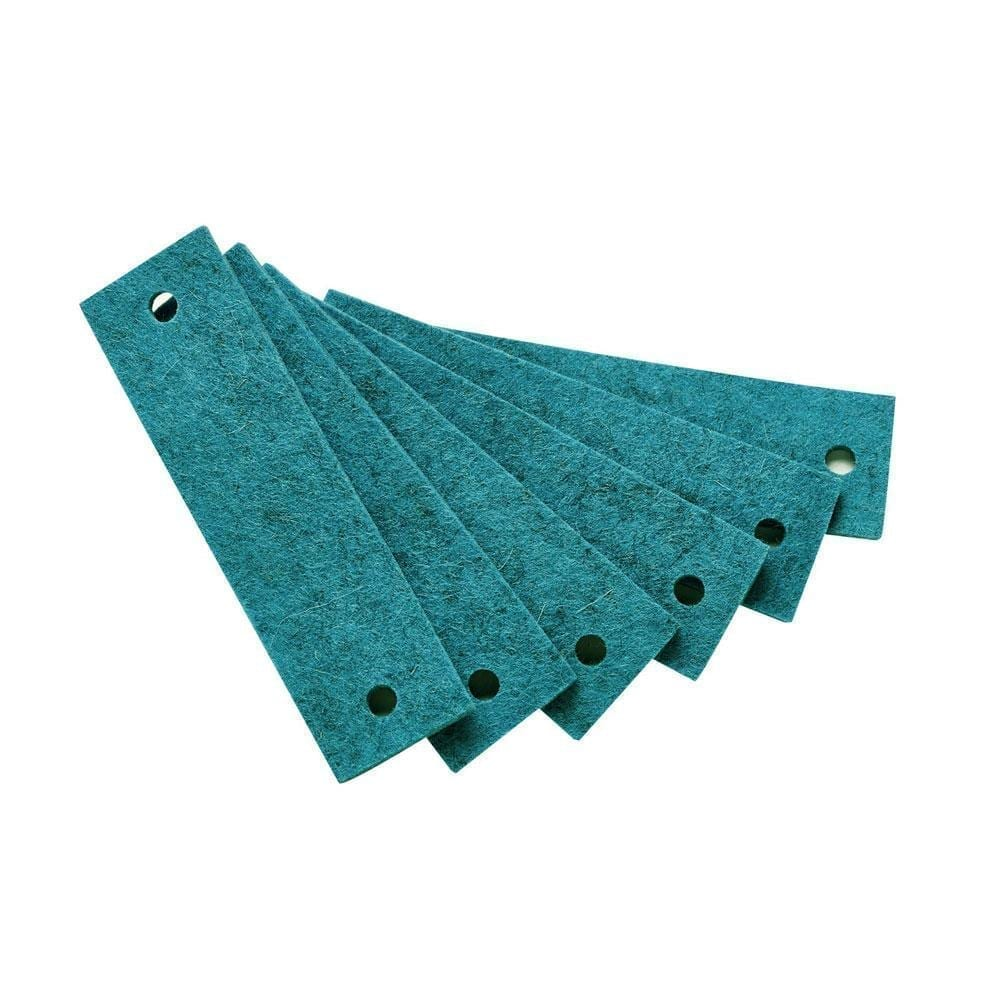 Leander – Felt Handles for Dresser – Turquoise (6pcs)