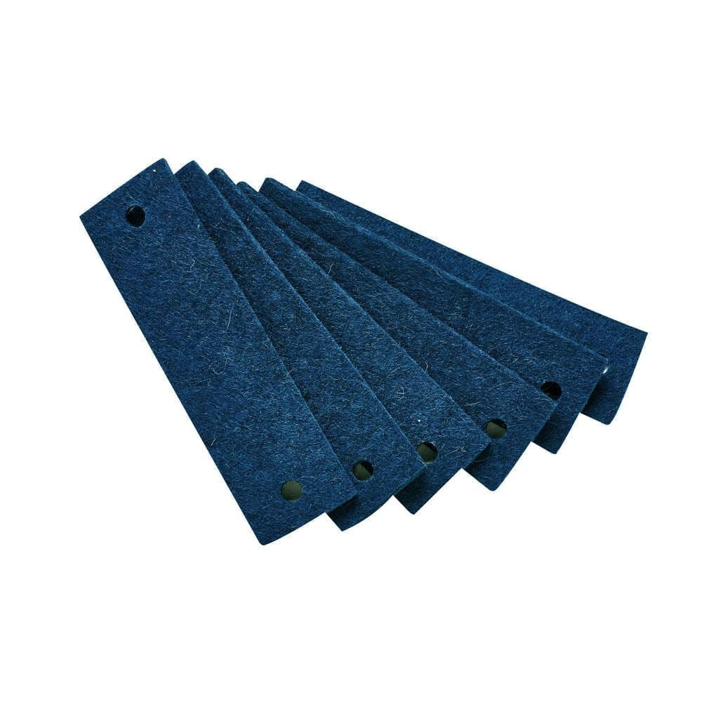 Leander – Felt Handles for Dresser – Blue (6pcs)