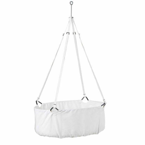 Leander - Baby Cradle - White