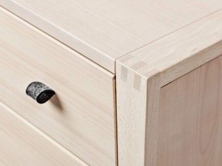 Leander - Linea, Dresser - Beech