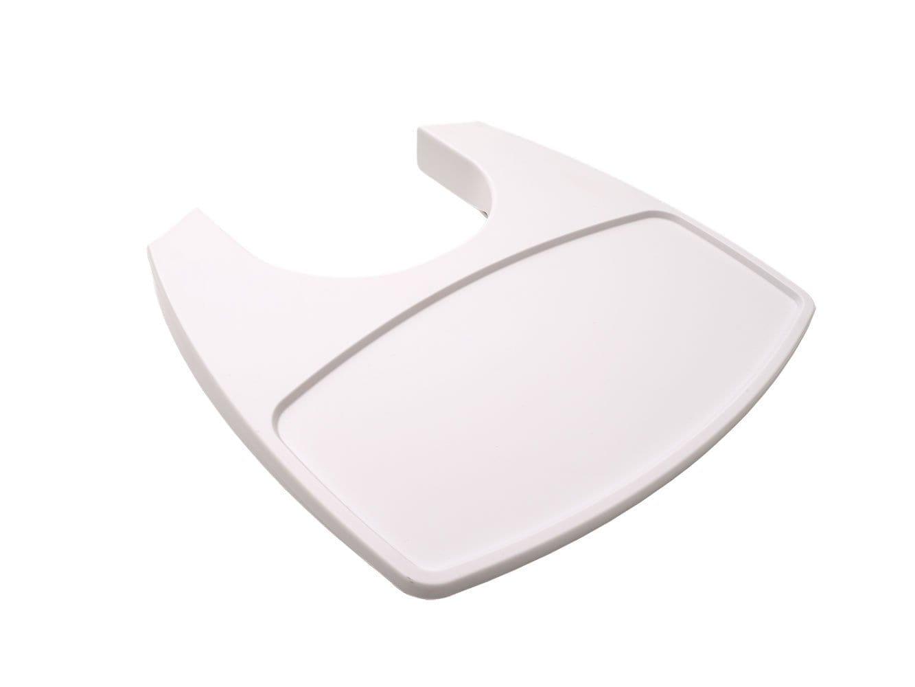 Leander – Tafelblad voor Classic Hoge Kinderstoel – Wit