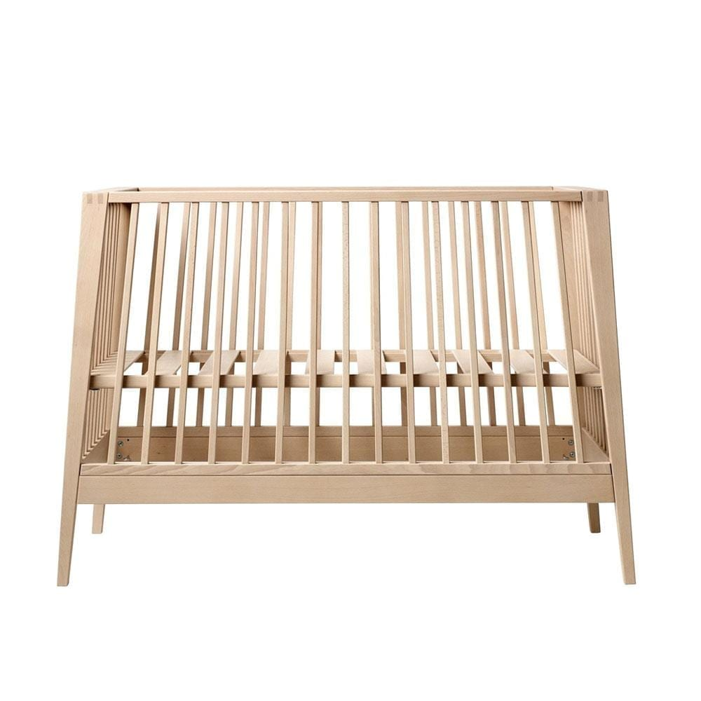 Leander – Linea Baby Cot – Beech –   60 x 120 cm
