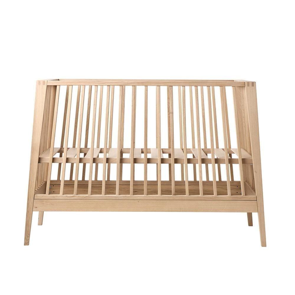 Linea Baby Cot – Solid Oak – 60 x 120 cm