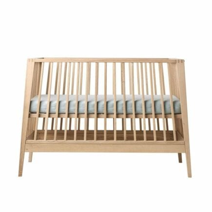 Baby& Junior Bed Linea - Solid Oak