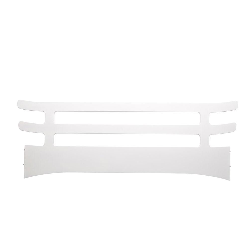 Leander - Junior Bed, Safety Guard - White
