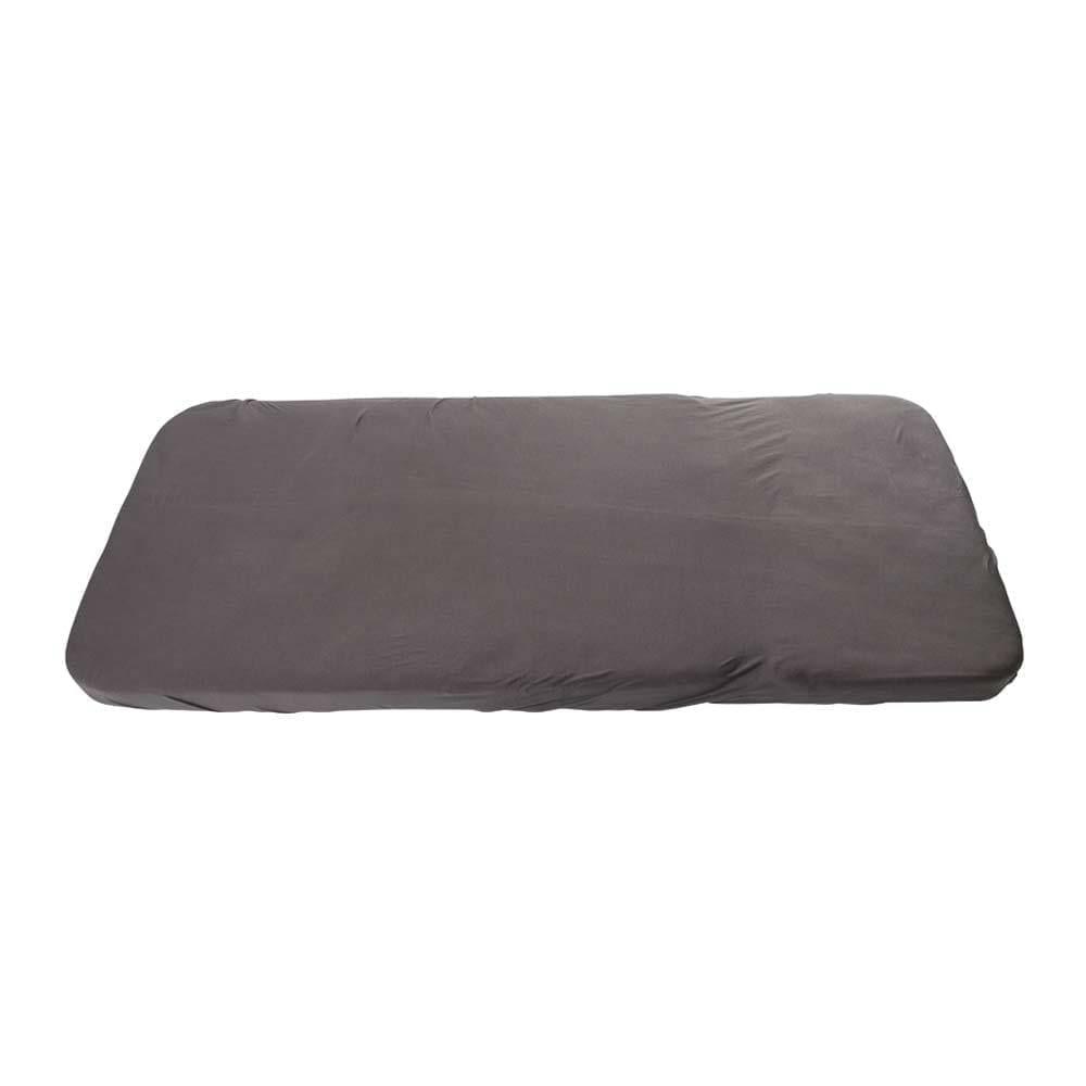 Spannbettlaken aus Bio-Baumwolle – Junior – Dark Grey – 70 x 160 cm