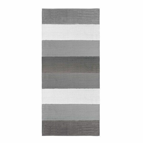 Sebra - Woven Rug - Classic Grey - 80 x 180 cm