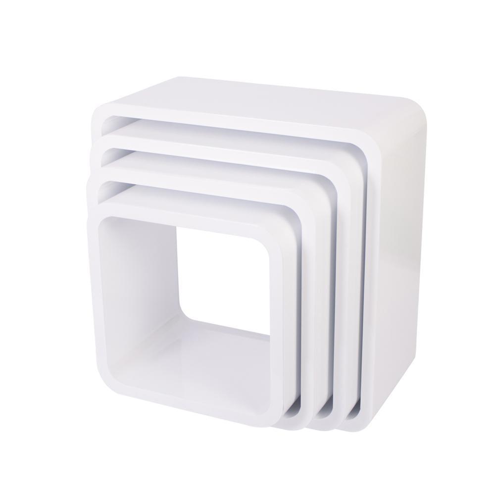 Storage Units Square Matte White