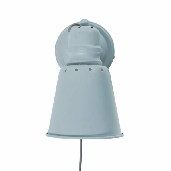 Sebra - Metal Wall Lamp - Cloud Blue