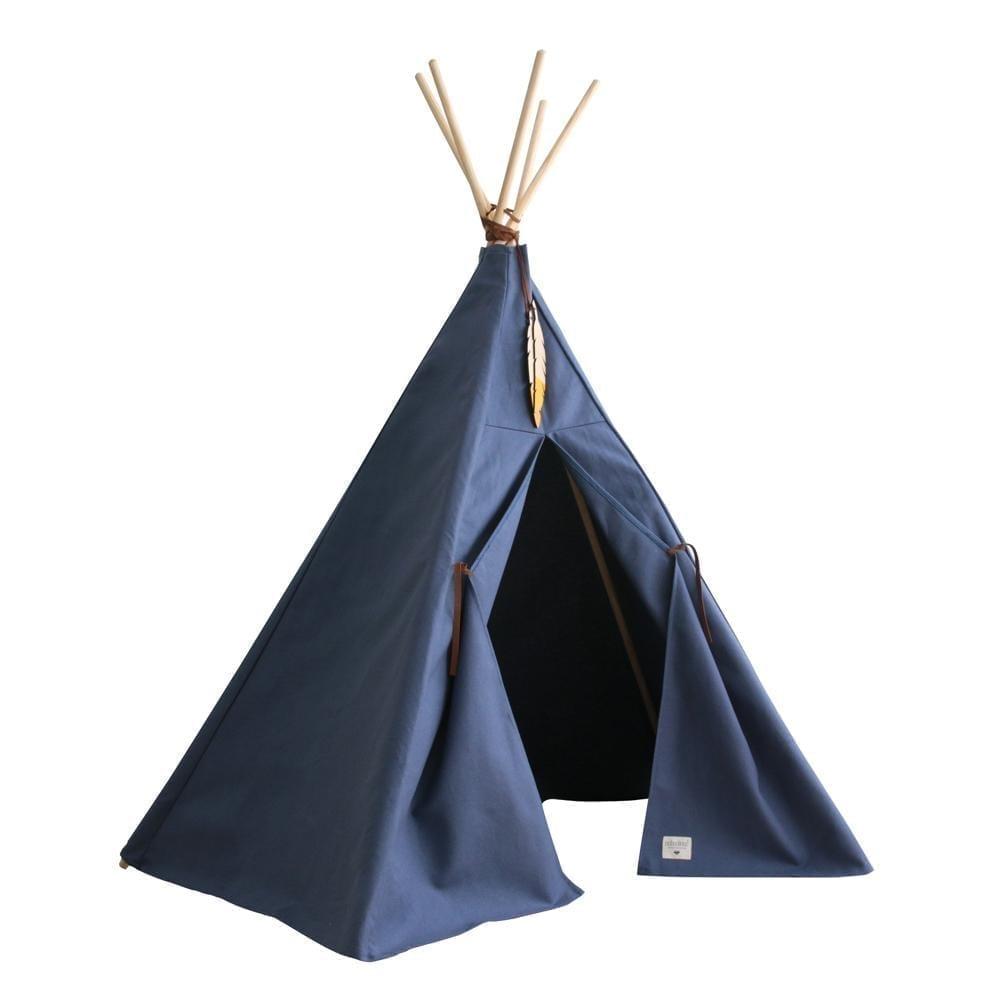 Teepee - Nevada - Aegean Blue - 120 x 152 cm