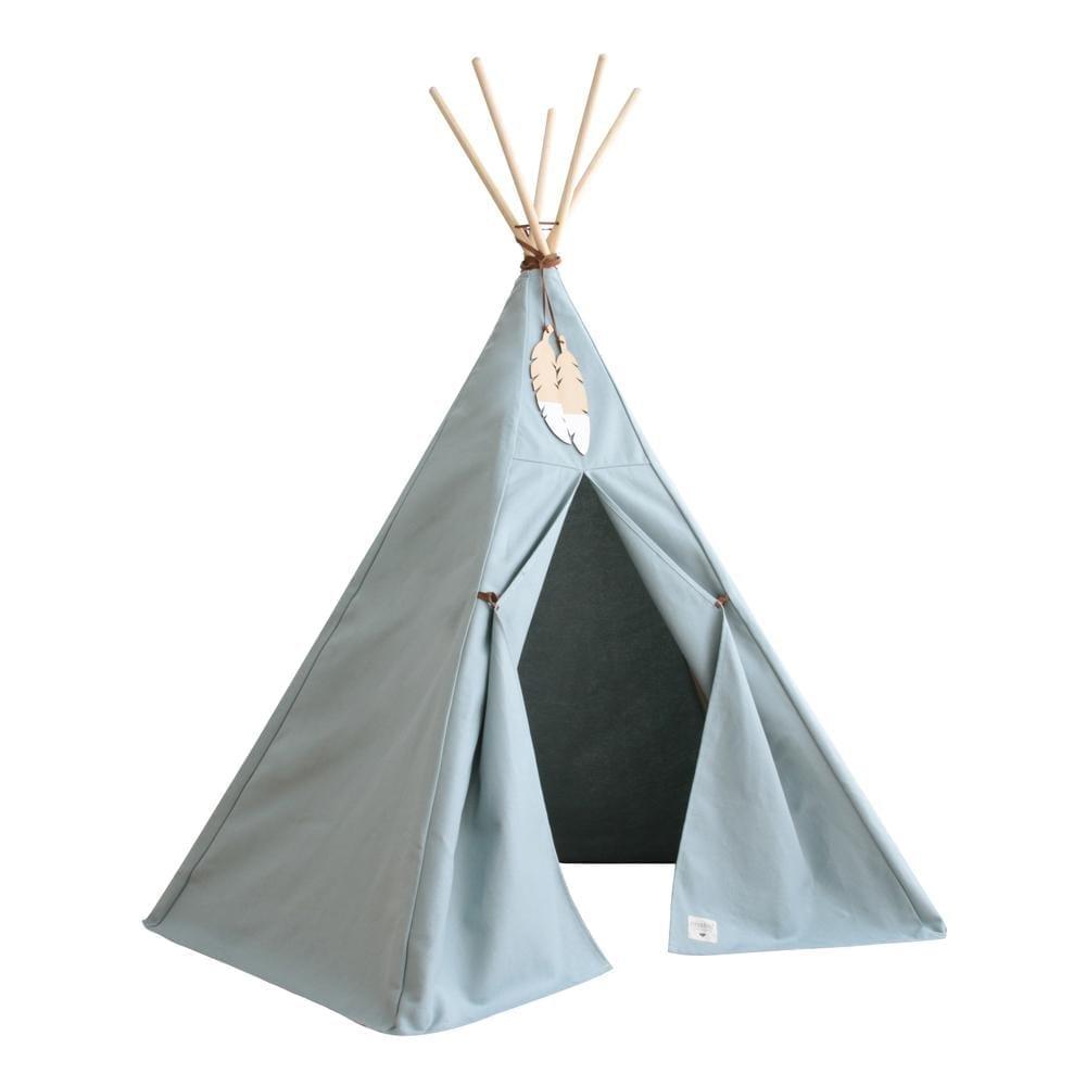 Teepee - Nevada - Rivièra Blue - 120 x 152 cm